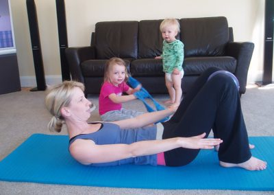 Mums n Bubs Pilates Session Success