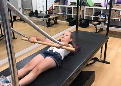 Kalani in Perth Pilates Studio
